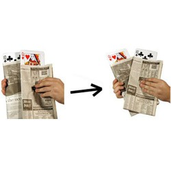 Newspaper Card Change