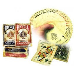 RED Bicycle 1800 Vintage Playing Cards