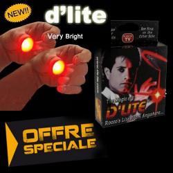 Paire de D'lite, la lumière magique au bout des doigts