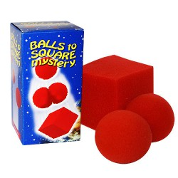 Lot de 6 x 3 Balles en mousses se Transforment en Cube