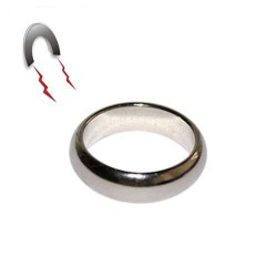 SUPER Silver magnetic Neo PK Ring G2